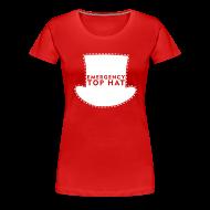 Women's T-Shirts ~ Women's Premium T-Shirt ~ Girl's EMERGENCY TOP HAT