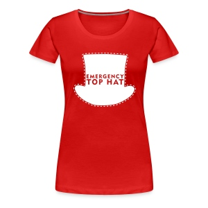 Girl's EMERGENCY TOP HAT - Women's Premium T-Shirt