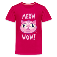 Kids' Shirts ~ Kids' Premium T-Shirt ~ Meow Wow! T-Shirt KIDS