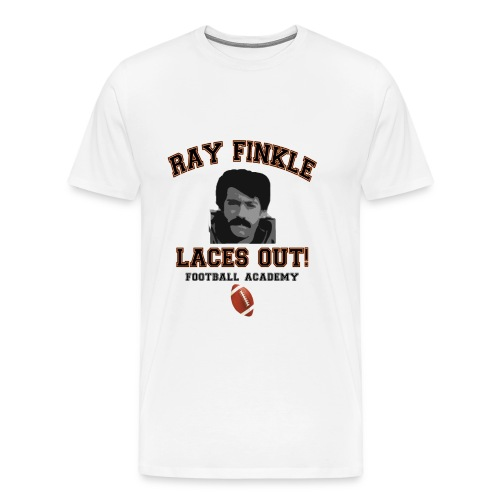 Men's Premium T-Shirt - ray finkle,ray,laces out,finkle,dolphins,ace ventura