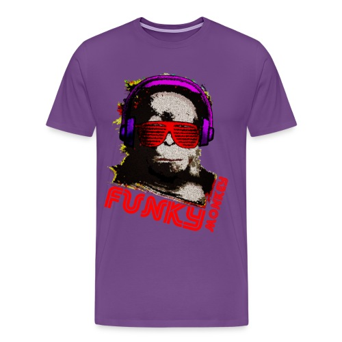 Funky Monkey shirt - Men's Premium T-Shirt