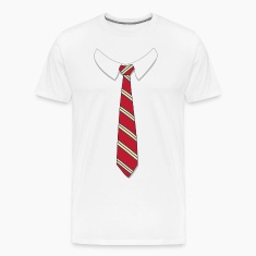 Fake Necktie Shirt