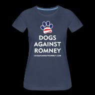T-Shirts ~ Women's Premium T-Shirt ~ Official Dogs Against Romney