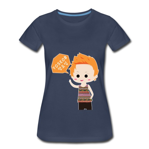 Women's Premium T-Shirt - yoseob,kpop,chibi,BEAST,B2ST
