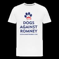 T-Shirts ~ Men's Premium T-Shirt ~ Official Dogs Against Romney