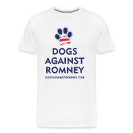 T-Shirts ~ Men's Premium T-Shirt ~ Official Dogs Against Romney