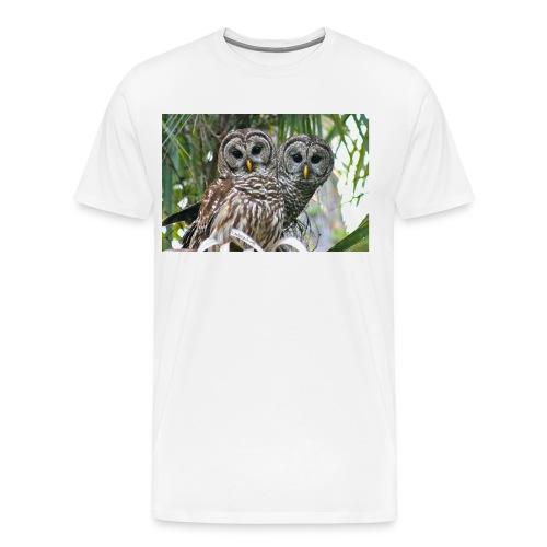 Barred Couple 2299  - Men's Premium T-Shirt