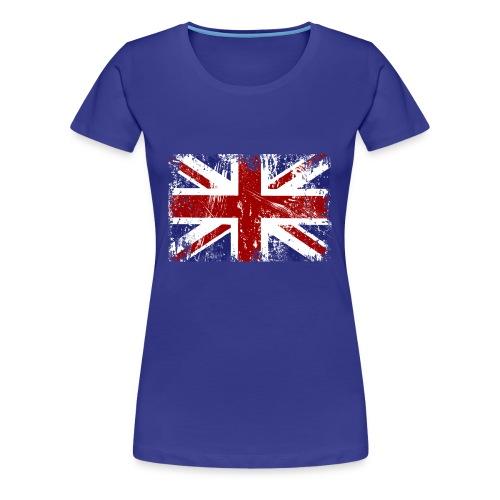 British Flag T-shirt - Women's Premium T-Shirt