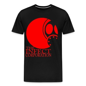 INFECT CORP RED 3X AND UP SHIRT - Men's Premium T-Shirt