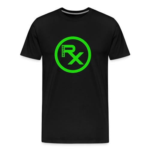 Raw Nature Black and Green - Men's Premium T-Shirt