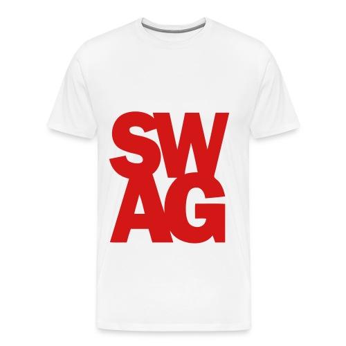 White Swag Tee - Men's Premium T-Shirt