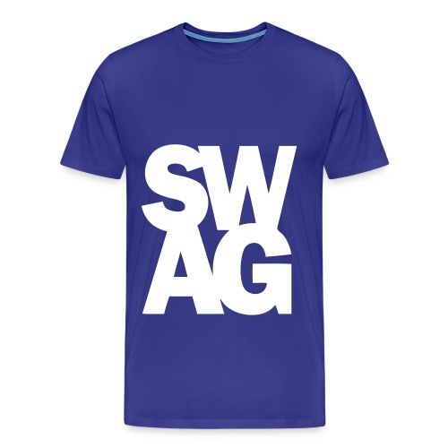 Blue Swag Tee - Men's Premium T-Shirt