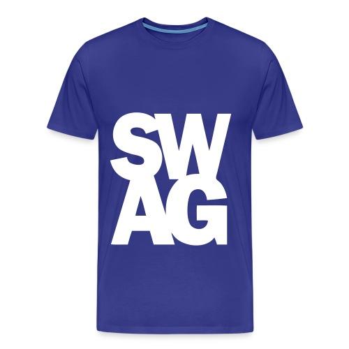 Blue Swag Tee - Men's Premium T-Shirt