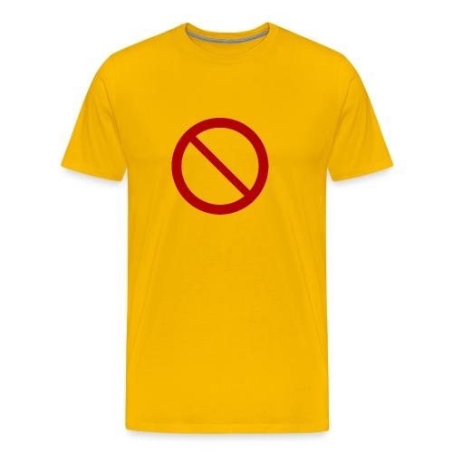 no sign shirt - Men's Premium T-Shirt