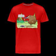 T-Shirts ~ Men's Premium T-Shirt ~ Play Dead Men's 3/4XL Tee