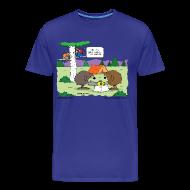 T-Shirts ~ Men's Premium T-Shirt ~ Choke Men's 3/4XL Tee