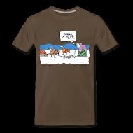 T-Shirts ~ Men's Premium T-Shirt ~ Flat Men's 3/4XL Tee