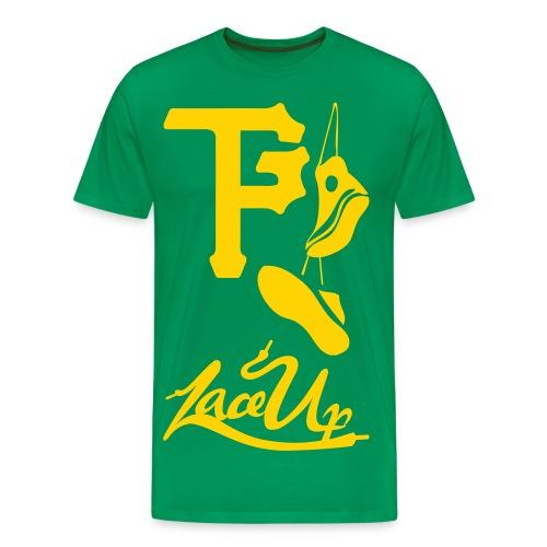 laced up - Men's Premium T-Shirt