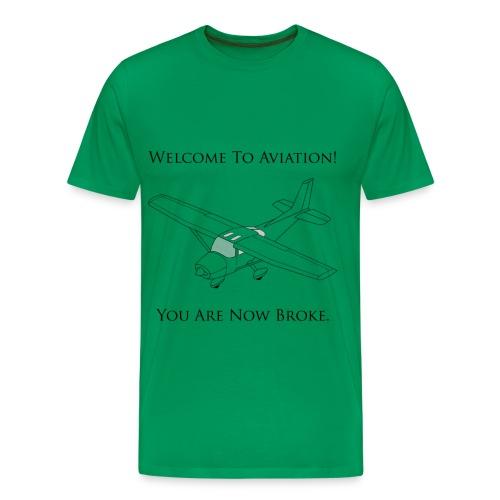 Truth in Flying - Men's Premium T-Shirt