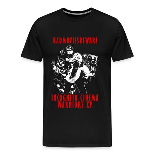 ICWXP Bad Movies Beware! - Men's Premium T-Shirt