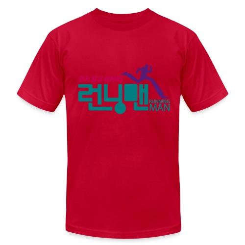 Running Man - Men's Fine Jersey T-Shirt