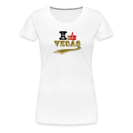 T-Shirts ~ Women's Premium T-Shirt ~ ICH LIEBE VEGAS