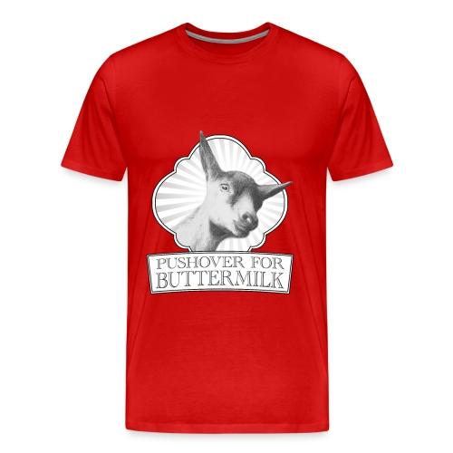 Pushover T-shirt in extended sizes - Men's Premium T-Shirt