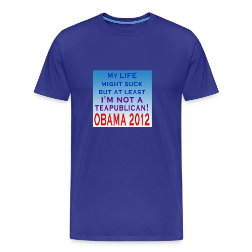 I'm not a Teapublican - Men's Premium T-Shirt