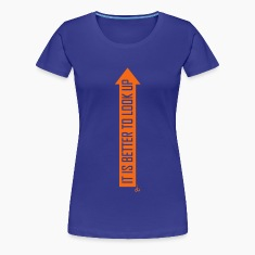 it_is_better_to_look_up_dit Women's T-Shirts