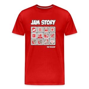 Big/Tall Mens Tee: Jam Story - Men's Premium T-Shirt