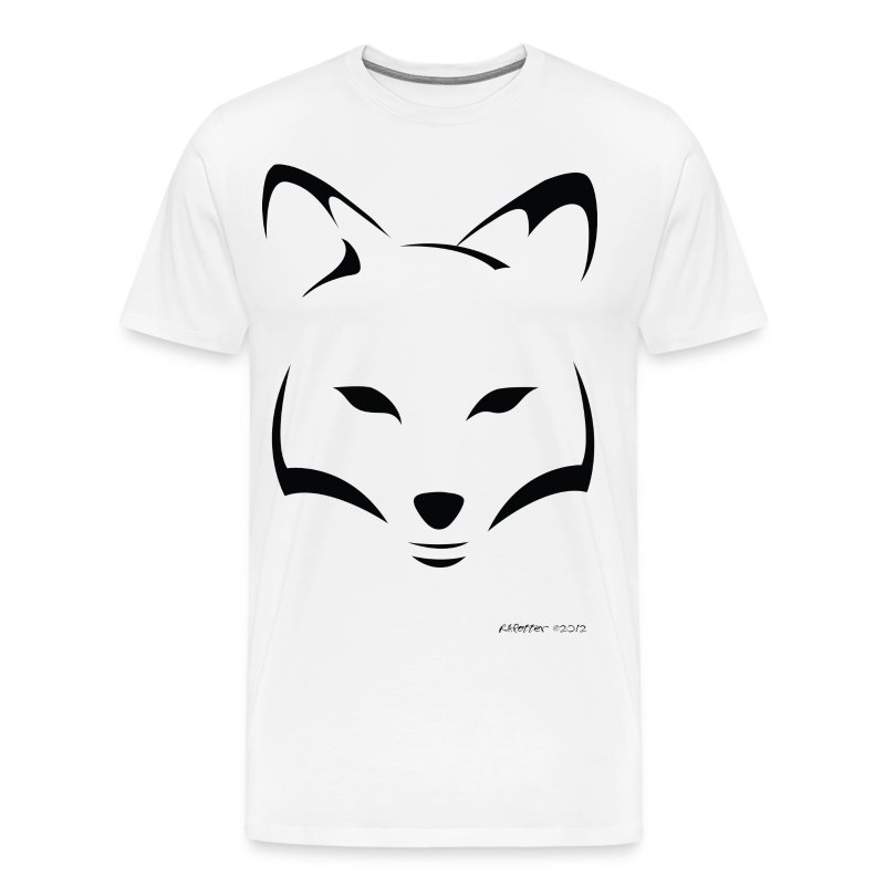 Three-Tailed Kitsune  - Men's Premium T-Shirt