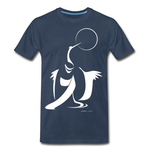 Kimono Crane - Men's Premium T-Shirt