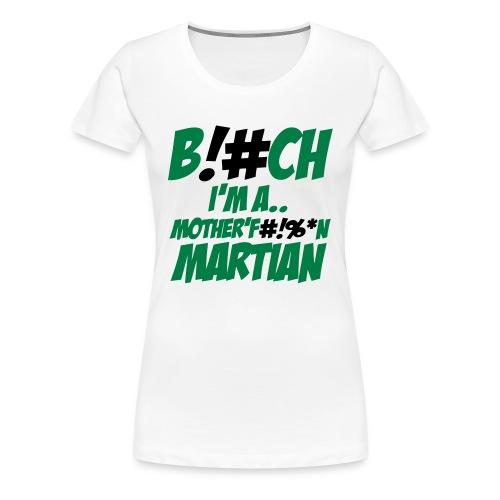 Martians vs. Goblins Women's T-Shirt  - Women's Premium T-Shirt