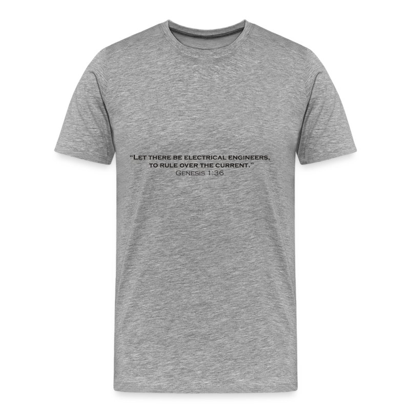 The Creation of Electrical Engineers - Men's Premium T-Shirt