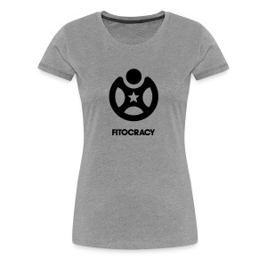 Fitocracy - Icon - Women's Gray Tee - Women's Premium T-Shirt