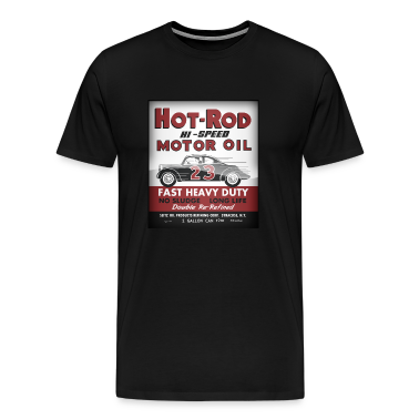 Hot-Rod Motor Oil vintage tin can reproduction