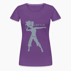 Dance Silhouette Women's T-Shirts
