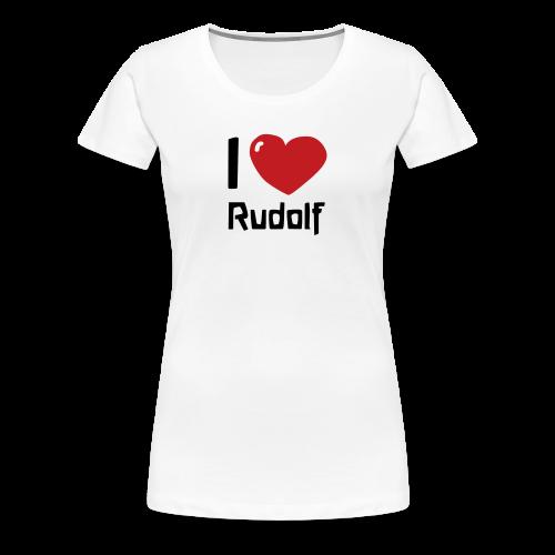 I love Rudolf - Women's Premium T-Shirt