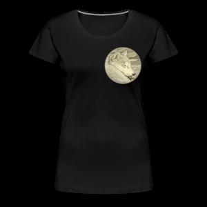 Shiba Inu Plus Size Shirts  - Women's Premium T-Shirt