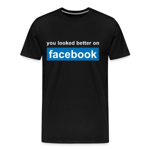Better on FB  - Men's Premium T-Shirt