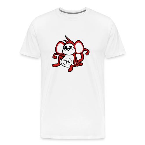 When Worlds Collide - Men's Premium T-Shirt