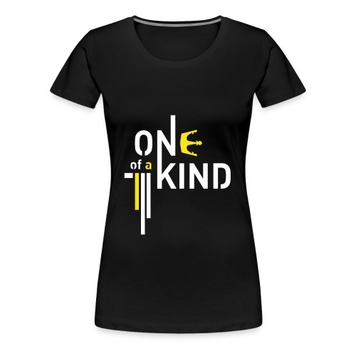 G-Dragon - One Of A Kind (White - Women) - Women's Premium T-Shirt