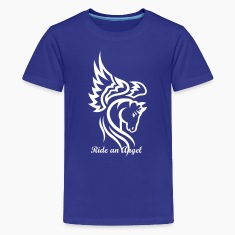 Horse Tribal Head Tattoo 1 Kids' Shirts