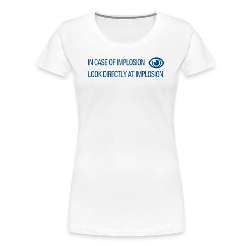 Implosion - Portal 2 - Women's Premium T-Shirt
