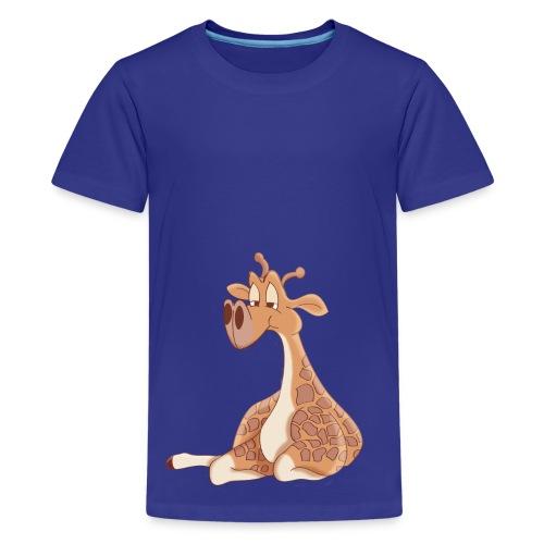 Giraffe Cartoon T-Shirt - Kids' Premium T-Shirt