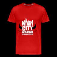 T-Shirts ~ Men's Premium T-Shirt ~ Men's T-Shirt Windy City