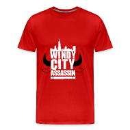 T-Shirts ~ Men's Premium T-Shirt ~ Men's T-Shirt Windy City