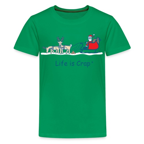 Reindeer Poop - Kid T-shirt - Kids' Premium T-Shirt
