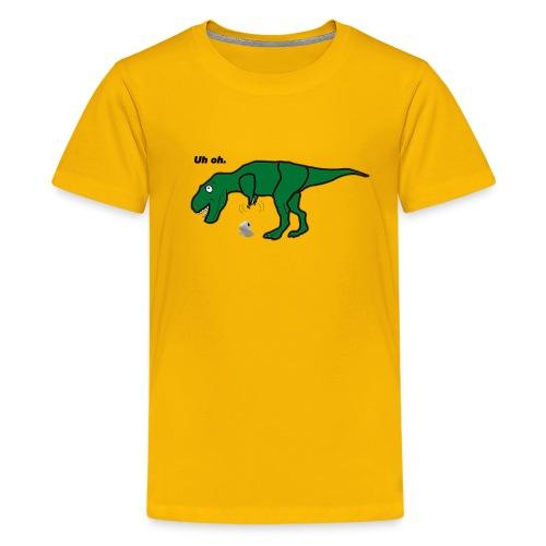 Uh Oh T-Rex - Kids' Premium T-Shirt