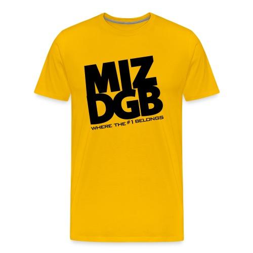 MIZ-DGB Gold Shirt - Men's Premium T-Shirt
